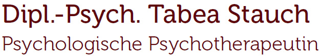 Tabea Stauch – Psychotherapie – Kostenerstattung – Wiesbaden Logo